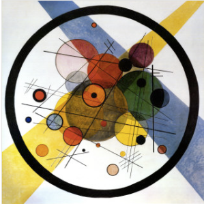 Circles in Circle by Kandinsky