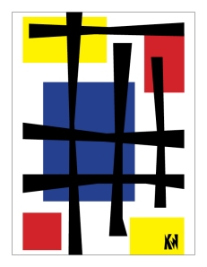 Mondrian as a child