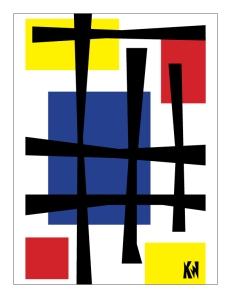 Mondrian as a child