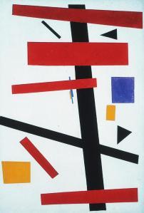 Suprematism no. 50 by Malevich